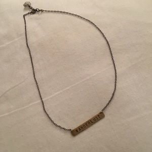 Free People WANDERLUST necklace